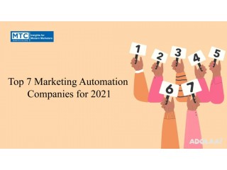 Top Marketing Automation Companies for 2021