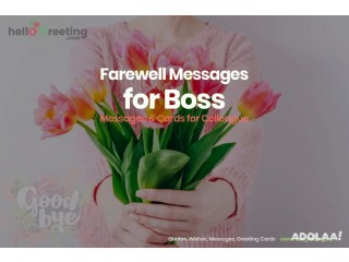 99+ Best Farewell Messages to Boss to Wish Luck & Say Adieu