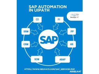 SAP automation in UiPath