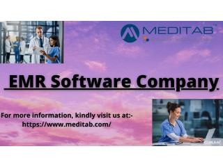 Associate with the best EMR software company and experience increased efficiency