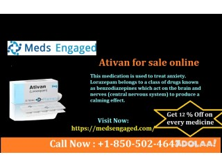 Best Place to Buy Ativan 2 mg Online fedex delivery in USA