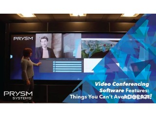 Video Conferencing Software Features: Things You Can't Avoid In 2021