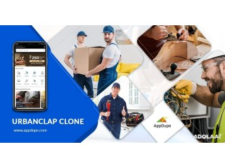 Amass your own Urban Company clone app with our reliable clone script