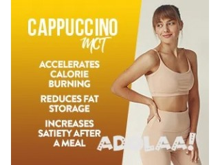 NEW Cappuccino MCT Weight Loss Lose 2 Pounds Each Night