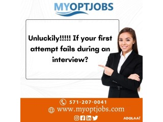 Unluckily!!!!! If your first attempt fails during an interview?