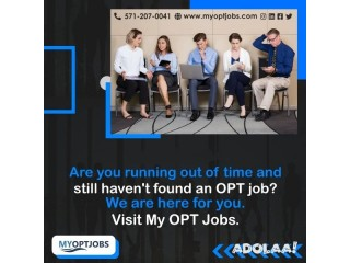 Are you facing difficulty in finding OPT jobs?
