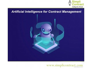 Artificial Intelligence for Contract Management - Simplicontract