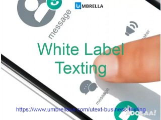 Cost effective White Label Texting with Umbrella