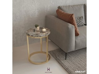 Cheap Agate Side Table