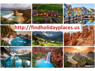 Beautiful Places to go on Holiday