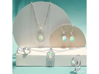 Buy Real Golden Collection Opal Jewelry