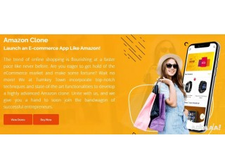 Make A Way Into The E-Commerce Industry With Amazon Clone Script