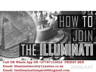 Join Illuminati 666 Now Online and Stop Suffering Now