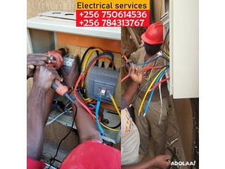 Authorized electricians in electrical wiring in Kampala +256750614536