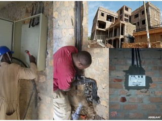 +256750614536 The Leading electrical contractor in Uganda
